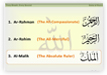 learn 99 names of Allah, asma al husna